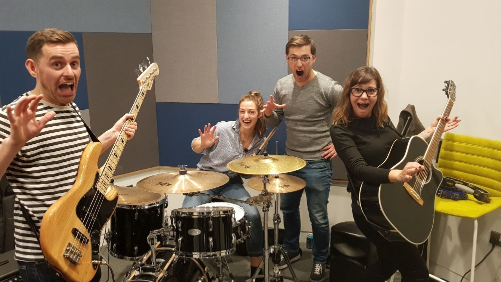Company Culture - work rock band - talivest