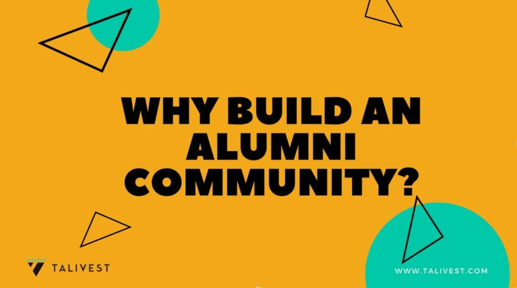 why build corporate alumni community