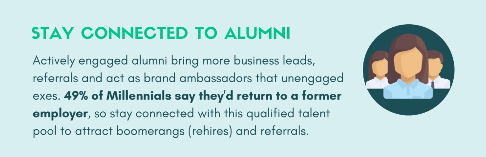corporate alumni and offboarding best practices