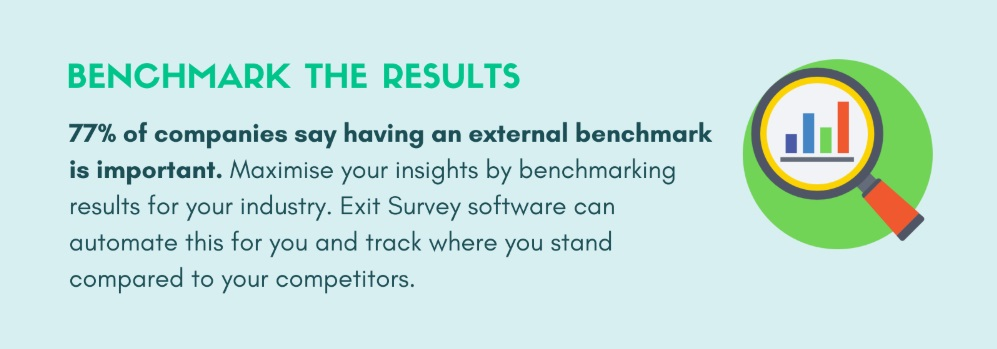 employee exit interview benchmarking