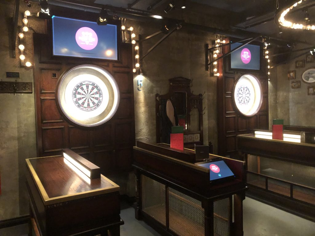 Darts and tech go hand in hand at Flight Club